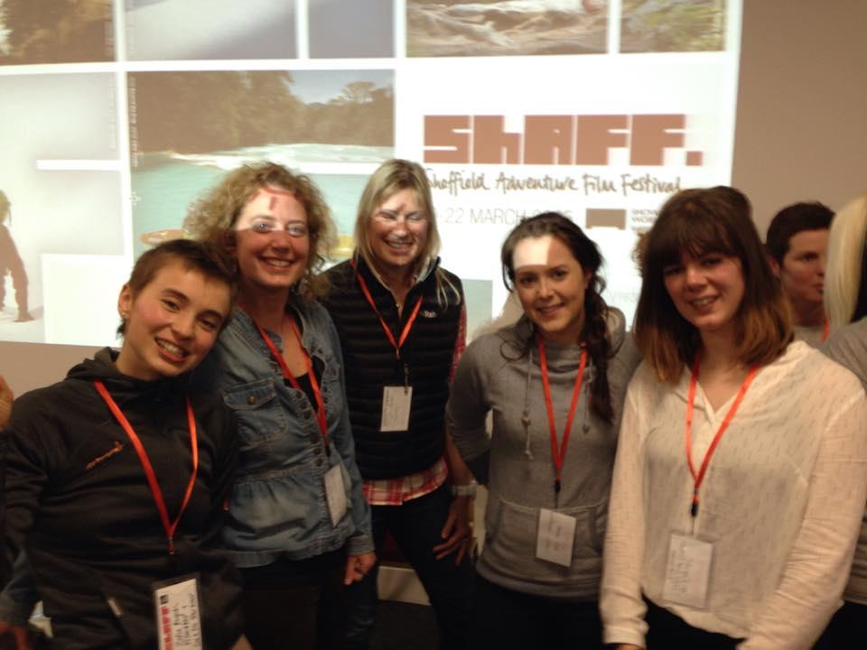 Sheffield Adventure Film Festival's Women in Adventure Network by Zofia Reych