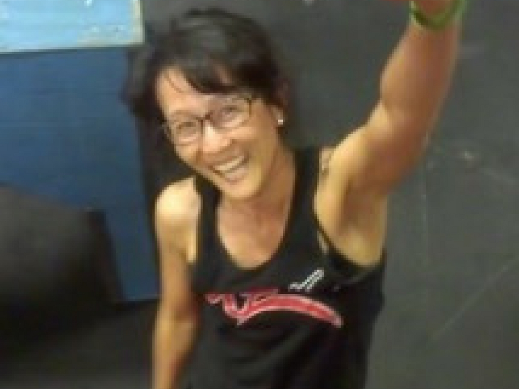 Parkour at age 52 by Maggie Namkoong Spaloss