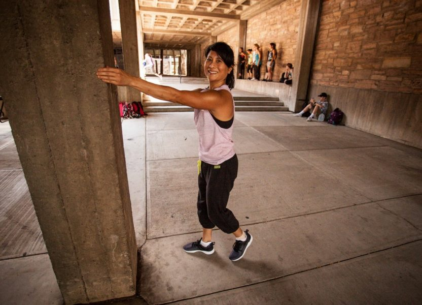 Why do I do Parkour at my age? by Christie Thomas